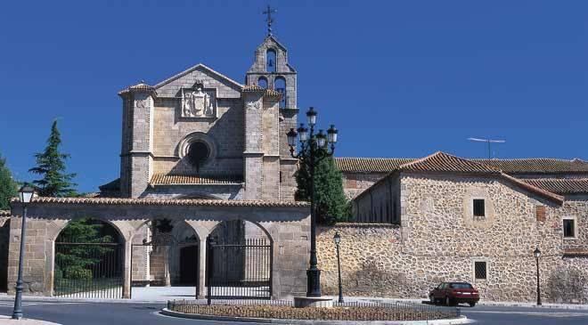 Monuments in Avila, Spain: Real Monasterio de Santo Tomas ...