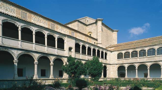 Monuments in Avila, Spain: Real Monasterio de Santo Tomas ...