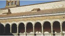 Partial view of the upper section of the convent of Santiago de Calera de León © Junta de Extremadura