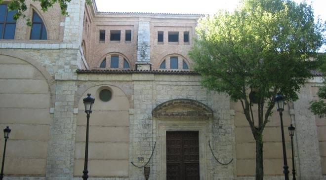 Exterior view of the Monastery of Las Huelgas Reales. Valladolid