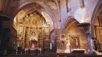 Interior view of the Parish Church of Santa Tecla in Cervera de la Cañada © Turespaña