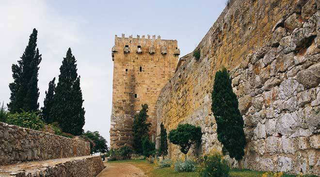 Tarragona City Walls: monuments in Tarragona at Spain is culture.