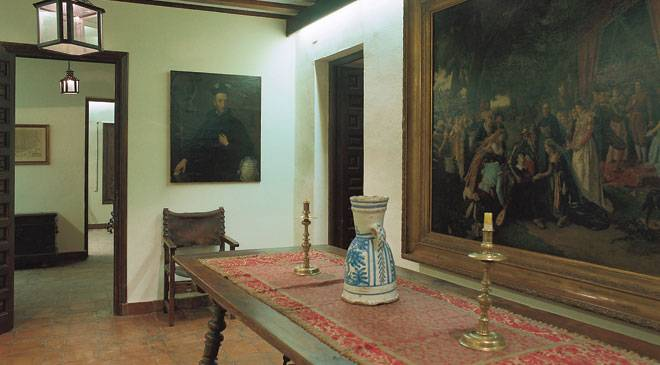 Interior of Cervantes' Birthplace Museum in Alcalá de Henares. Madrid © Turespaña