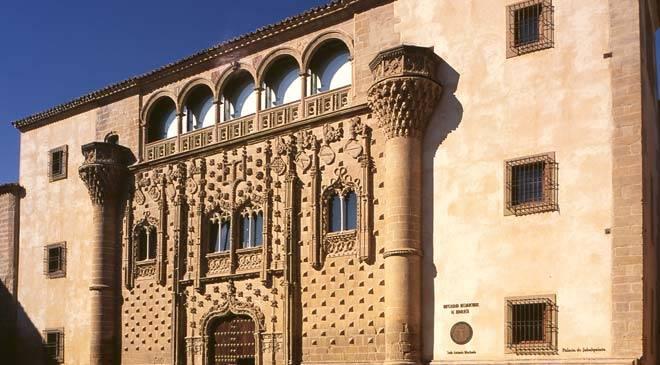 Renaissance monumental ensemble in Baeza : monuments in Baeza, Jaén at Spain ...