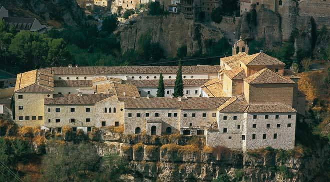 Panoramic view of the old convent of San Pablo, now the Parador hotel in Cuenca © Turespaña