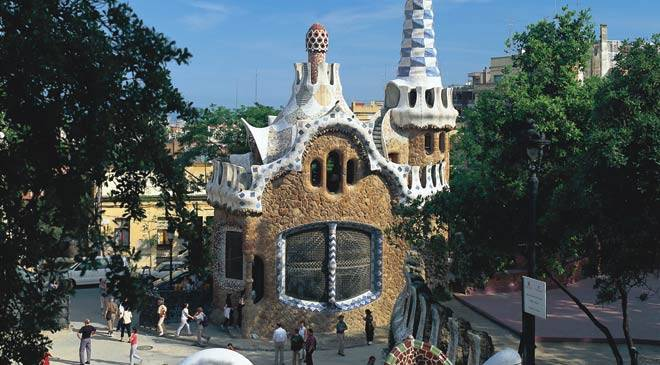 Entrance to Güell Park. Barcelona © Turespaña