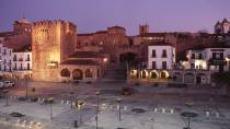 Plaza Mayor in Cáceres © Turespaña