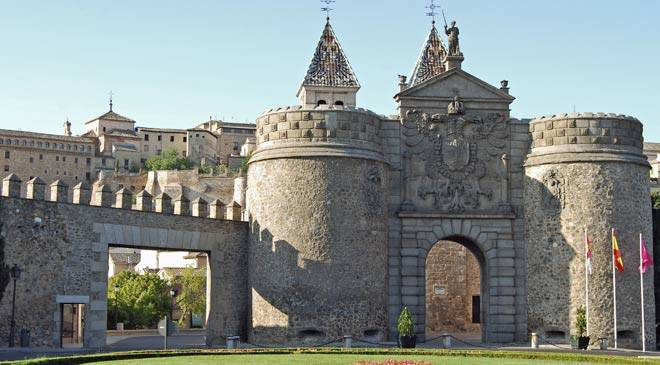 New Bisagra Gate, Toledo © Turespaña