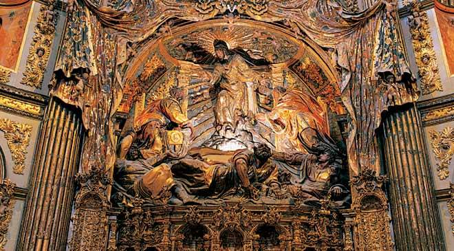 Altarpiece in the chapel of El Salvador. Úbeda, Jaén © Turespaña