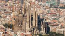 The Sagrada Familia cathedral. Barcelona