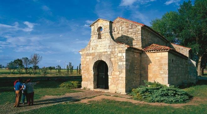 San Juan Bautista Church Monuments In Venta De Banos Palencia At