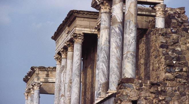 Boda Teatro Romano Merida : Thé tre romain de mérida monuments à badajoz sur