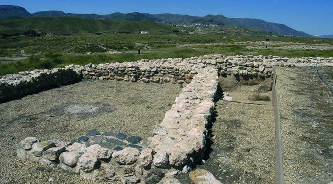 Los Millares archaeological site, Almería © Photo courtesy of the  Patronato Provincial de Turismo de Almería