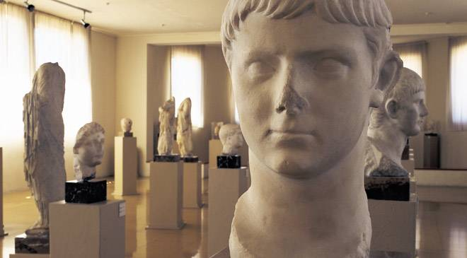 Roman sculptures. Tarragona National Archaeology Museum © Turespaña