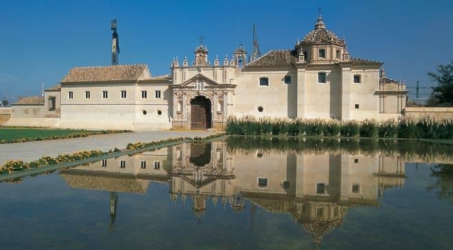 Centro andaluz de arte contemporaneo museums in seville - La isla dela cartuja ...