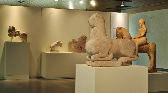 'Deer from Caudete' in one of the rooms in Albacete Museum © Ministerio de Cultura