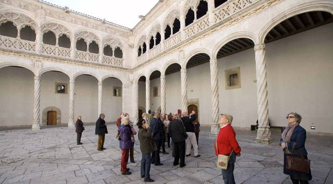 General view of the cloister of the College of San Gregorio, Valladolid © Ministerio de Cultura