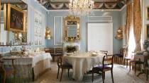 Room in the National Museum of Romanticism. Dining room © Ministerio de Cultura