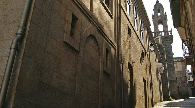 Partial view of the façade of the Ribadavia Ethnology Museum. Ribadavia, Ourense © Ministerio de Cultura