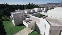 View of the Joan Miró Foundation from above. Barcelona © Turespaña
