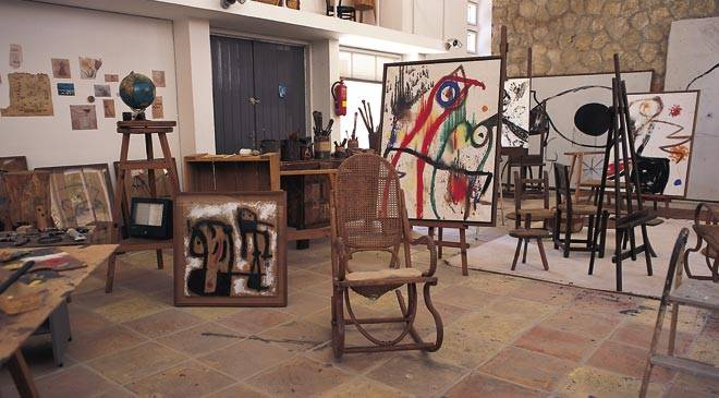 Room in the Pilar and Joan Miró Foundation. Palma. Majorca © Turespaña