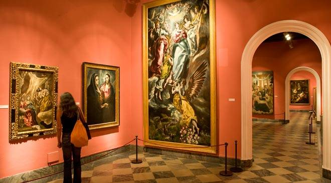 Santa Cruz Museum: museums in Toledo at Spain is culture.
