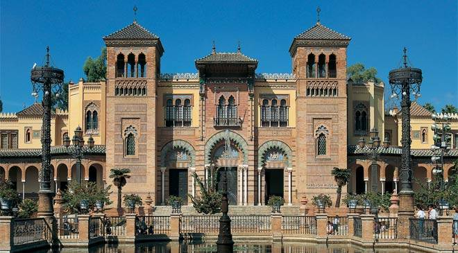 Mudéjar pavilion, site of the Seville Museum of Art and Popular Customs © Turespaña