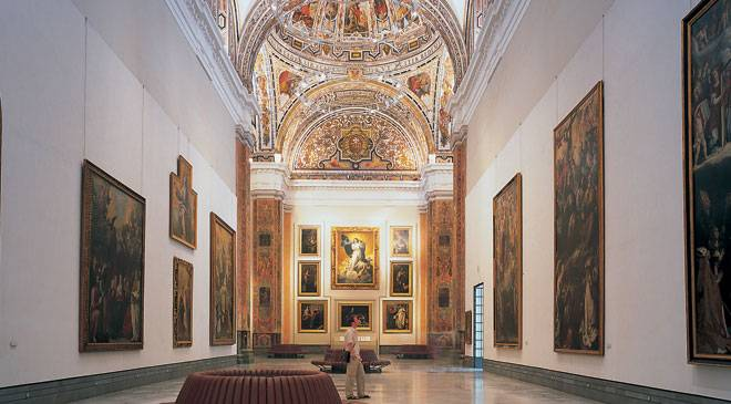 Room at the Seville Museum of Fine Arts © Turespaña