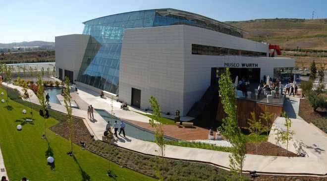 Museo Würth la Rioja: museums in Agoncillo, La Rioja at Spain is culture.