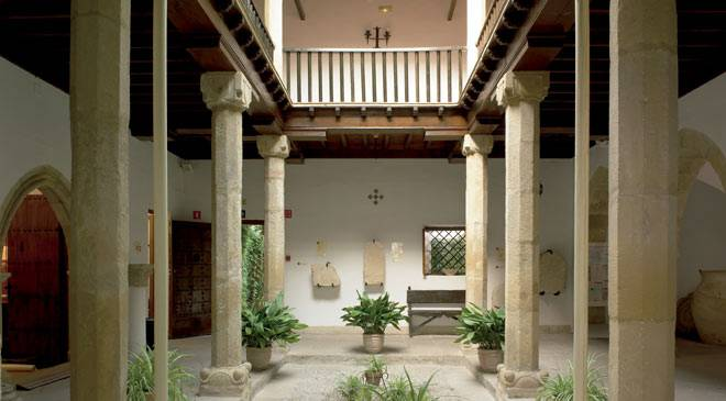 Central courtyard in the Úbeda Archaeology Museum © Ministerio de Cultura