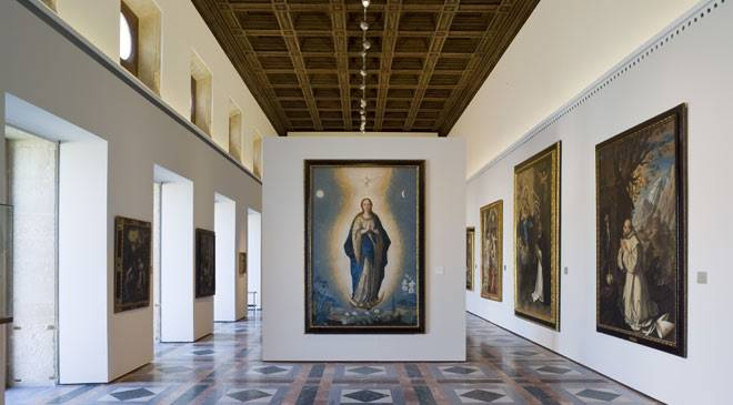 Room I in the Granada Museum of Fine Arts © Ministerio de Cultura