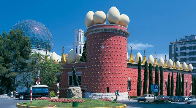 Teatro Museo Dali.Dali Theatre Museum Museums In Figueres Girona At Spain Is Culture