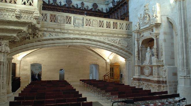 Chapel of the College of San Gregorio, Valladolid © Ministerio de Cultura