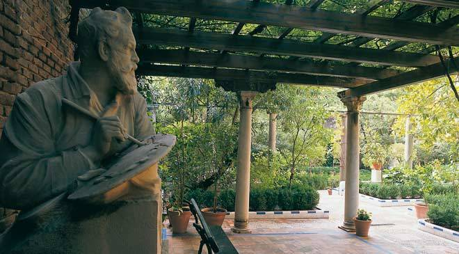 Garden in the Sorolla Museum ©Turespaña