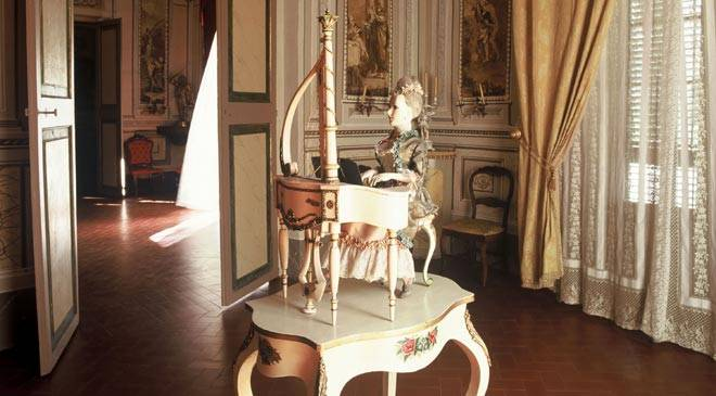 One of the rooms in the Romantic Museum. Sitges © Consorci del Patrimoni de Sitges