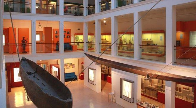 Interior of the National Anthropology Museum © Ministerio de Cultura