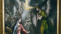 The Annunciation by El Greco at the Bilbao Museum of Fine Arts © Turespaña