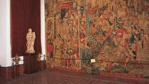 Tapestry in the Cathedral Museum in Zamora © Turespaña