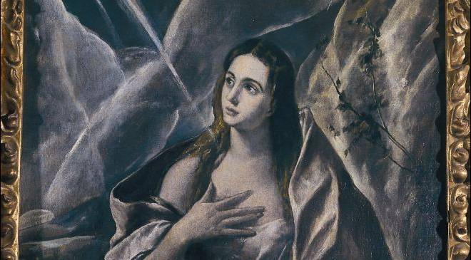 The Penitent Mary Magdalene, by El Greco, at the Montserrat Museum © Turespaña