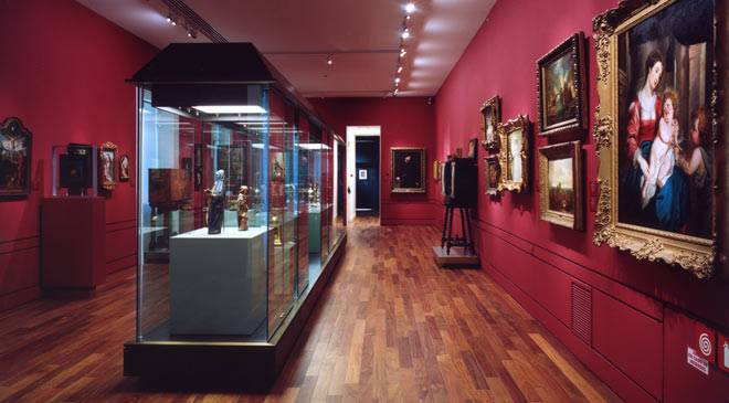 Room in the Lázaro Galdiano Foundation Museum © Ministerio de Cultura