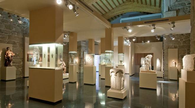 Room in the Ourense Archaeology Museum © Ministerio de Cultura