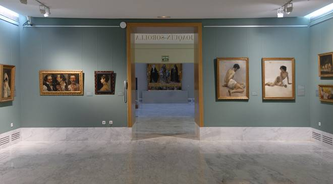 Sorolla Room at the Valencia Museum of Fine Arts © Valencia Museum of Fine Arts