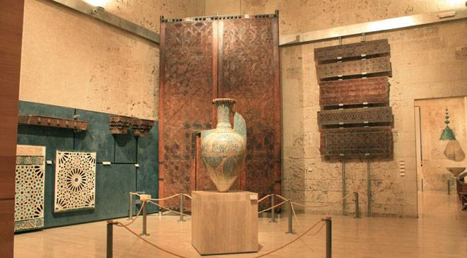 Interior of the Alhambra Museum © Ministerio de Cultura
