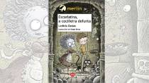 Cover of the book 'Escarlatina, a cociñeria defunta' by Ledicia Costas