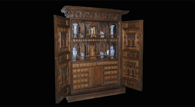 armoire mus e national des arts d coratifs madrid sur spain is culture. Black Bedroom Furniture Sets. Home Design Ideas