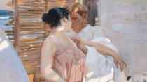 'The Pink Robe. After the Bath'. Sorolla Museum, Madrid © Ministerio de Cultura