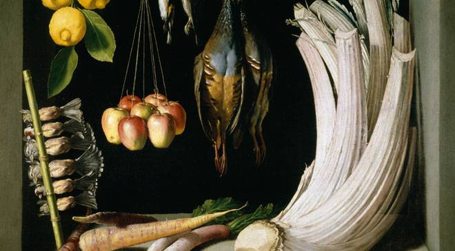 'Still Life with Game Fowl, Vegetables and Fruits' © Madrid, Museo Nacional del Prado