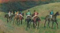 'Racehorses in a Landscape' © Museo Thyssen - Bornemisza, Madrid.