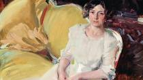 'Clotilde seated on the Sofa'. Sorolla Museum, Madrid © Ministerio de Cultura