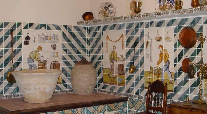 Cuisine Valence | Cuisine Typique De Valence Musee National De La Ceramique Et Arts